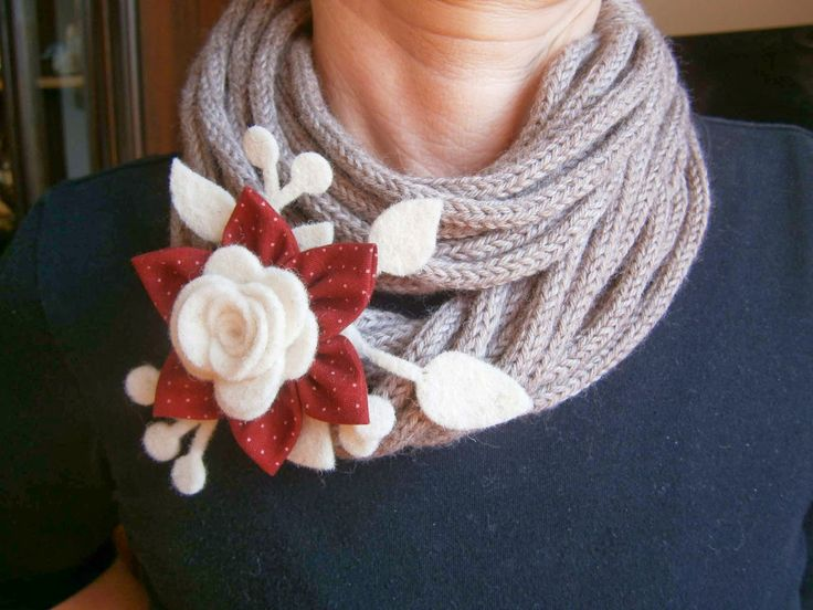 Collane in tricotin