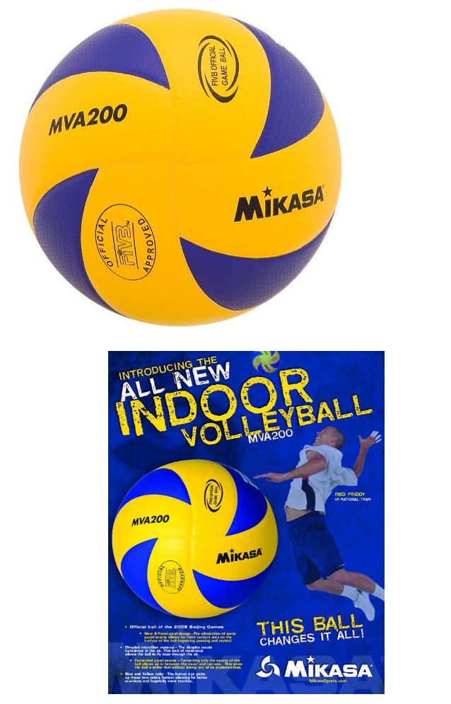 Volleyballs 159132: Mikasa Mva200 Official Fivb Rio 2016 Olympic Indoor Game Volleyball (Us Seller) -> BUY IT NOW ONLY: $49.4 on eBay!