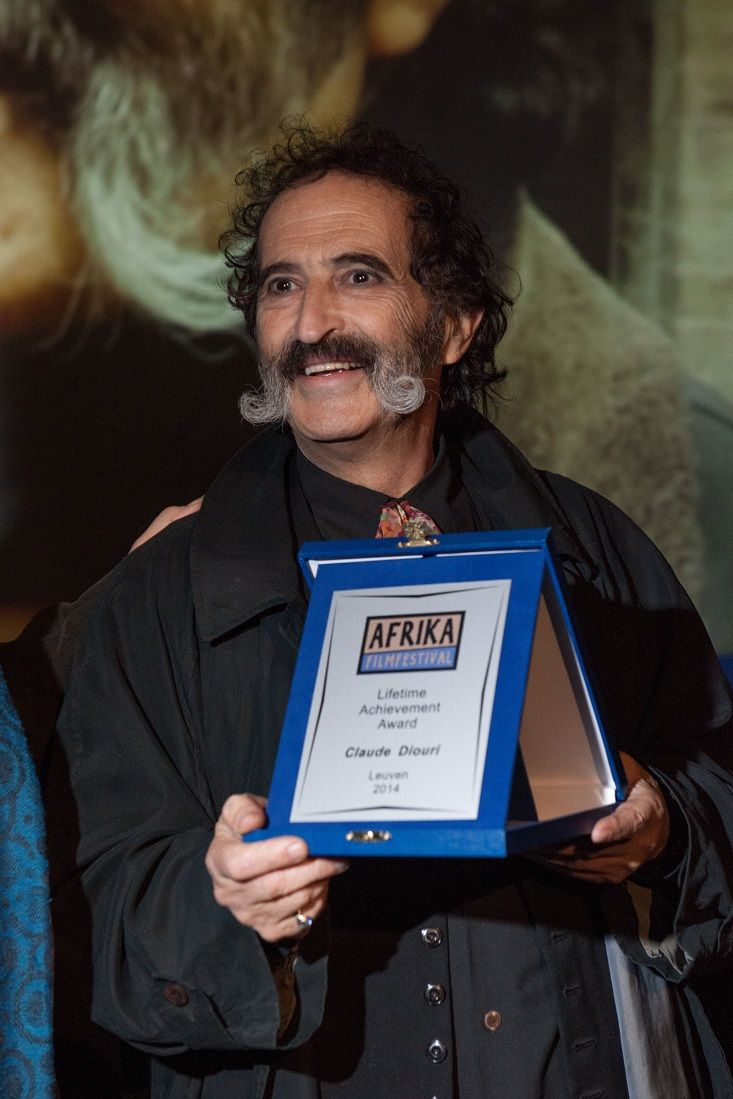 Claude Diouri gets Lifetime Award before the film MANDELA. LONG WALK TO FREEDOM - picture: Stefaan Cordier
