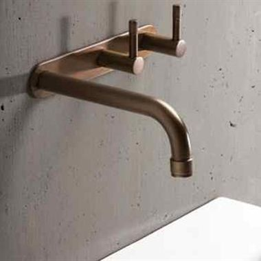 Copper Overhead Shower perfect for indoor or outdoor
