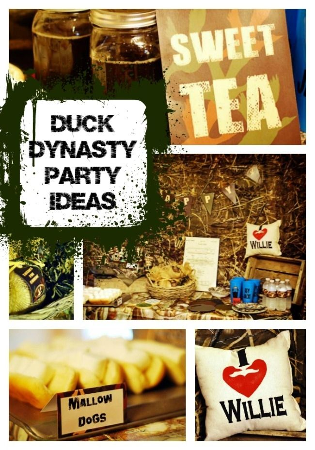 Duck Dynasty Themed Birthday Party - Im all about it JACK! Complete with fake ZZ top beards!  @Laura Jayson Jayson Harlow Foley @Tiffany Newcomb @Courtney Baker Baker Baker Prouty @Stacey McKenzie McKenzie McKenzie Springs @Erica Cerulo Cerulo Cerulo May