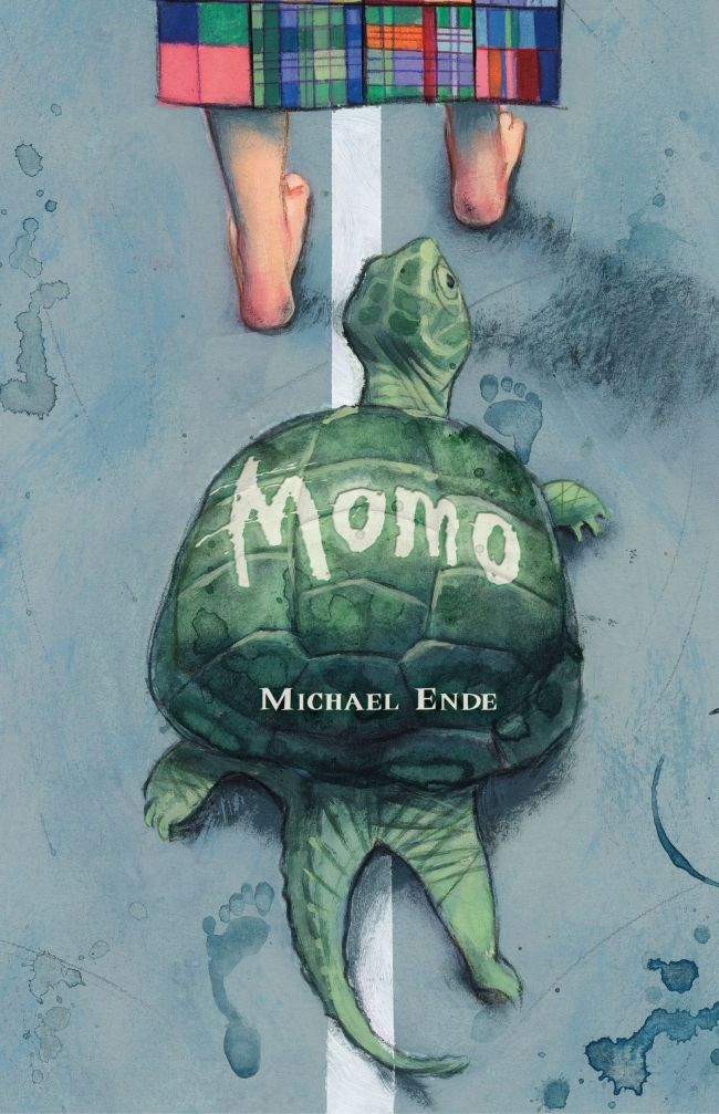 """Momo - Michael Ende.  De 9 años en adelante. """"Nadie quería darse cuenta de que su vida se volvía cada vez más pobre, más monótona y más fría.  Y cuanto más tiempo ahorraban, menos tiempo tenían."""""""