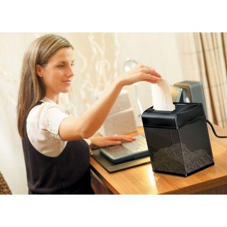 Fellowes® Powershred® ShredMate Cross-Cut Paper Shredder, 4 Sheets - Black : Target