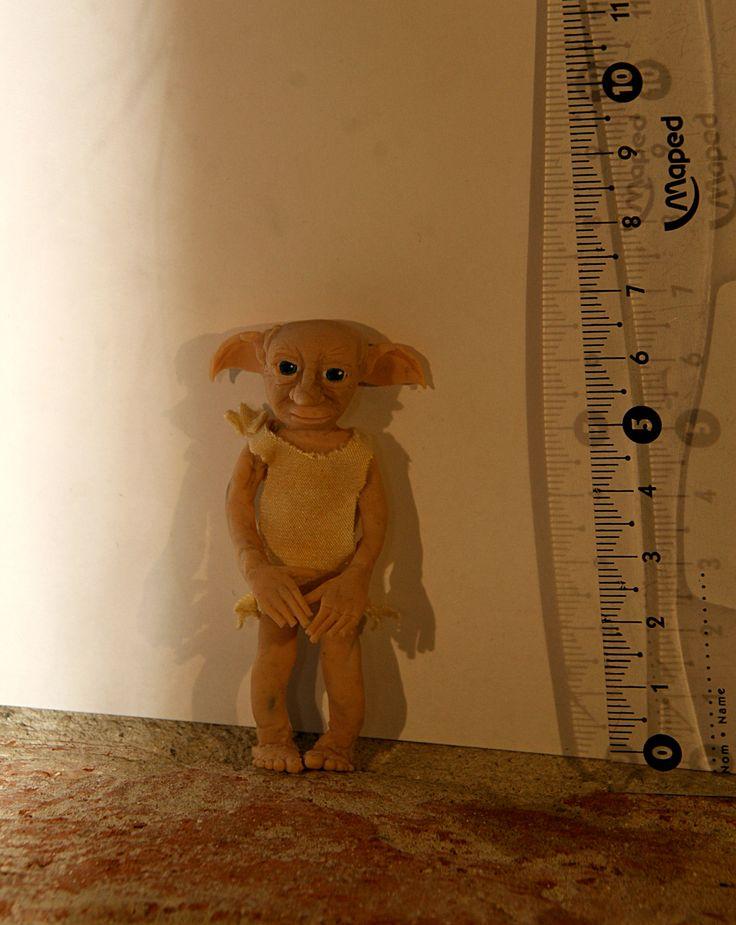 Dobby doll - polymer clay