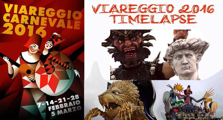 #Carnevale #Viareggio #2016 - #Timelapse #integrale dell'#ultimo #corso #weusetv (12/03/16)