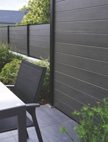 wood plastic composite fence - very smooth