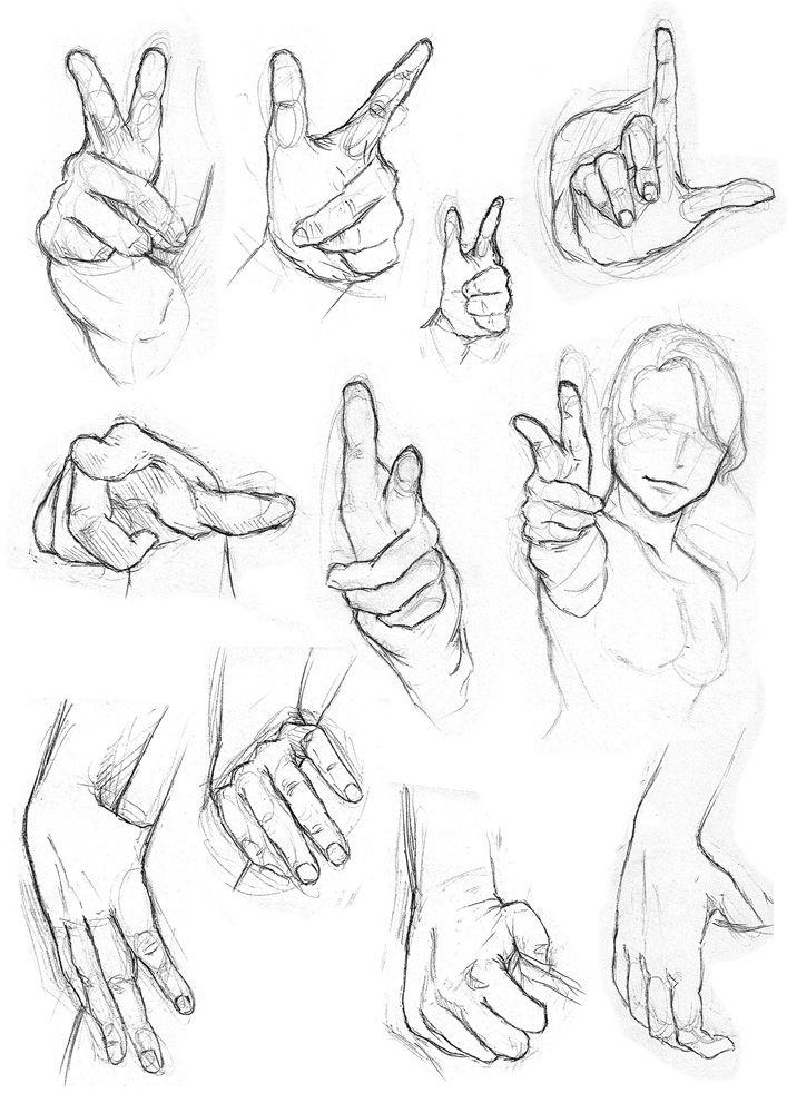 Hands sketch. I like.