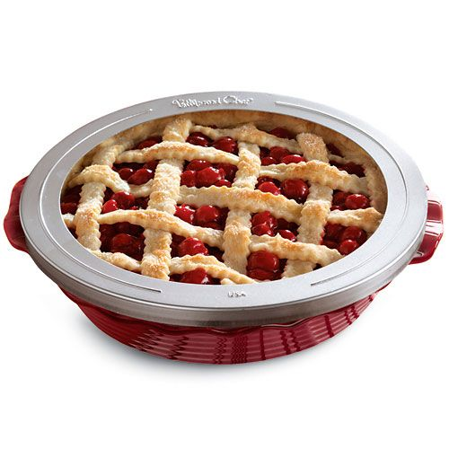 Pie Crust Shield - The Pampered Chef®  - marianne r.: this thing is useless didn't work at all