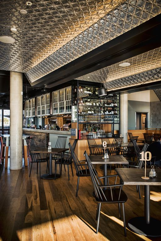 Walt and Burley Restaurant, Canberra, Australia designed by Luchetti Krelle