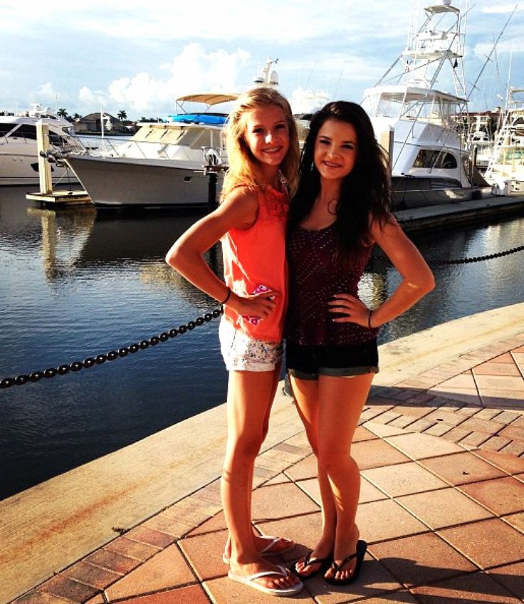 Paige and Brooke Hyland :) #DanceMoms
