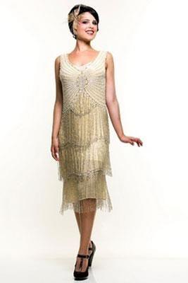 Платье в стиле 20х годов