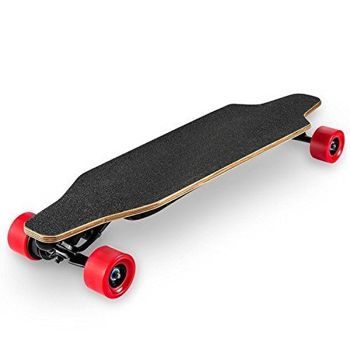 FXWOOD 2.7inch Automatic Remote Control Electric Skateboard Complete Professional Sports Skateboard Retro Skateboard