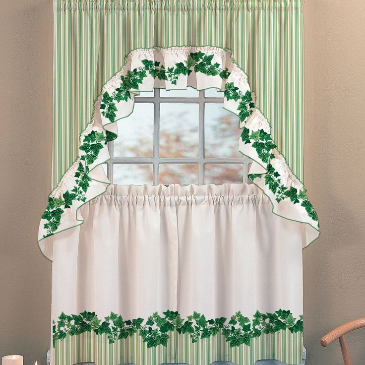 Green Kitchen Curtain Ideas: Eldhúsgardínur Images On