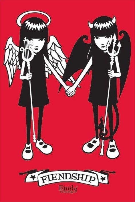 EMILY THE STRANGE - friendship poster / print - Europosters