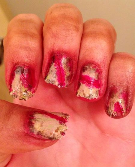 59 best halloween zombie nail art images on pinterest halloween halloween zombie nail art designs ideas 2014 prinsesfo Choice Image