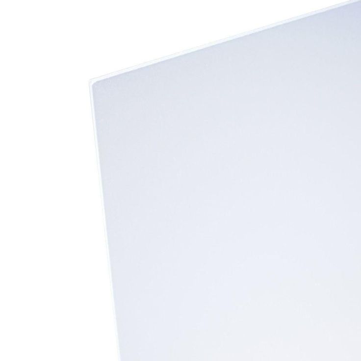 Optix 48 In X 96 In X 1 8 In Frosted Acrylic Sheet Mc 107 Frosted Acrylic Sheet Acrylic Sheets Clear Acrylic Sheet