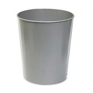 Safco 6 Gallon Round Wastebasket - Set of 6 [Office Product] MPN: 9604CH