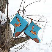 Магазин мастера FeltedClouds (Светлана): броши, обувь ручной работы, футляры, очечники, береты, кошельки и визитницы