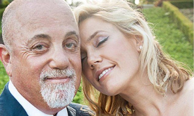 Billy Joel and pregnant girlfriend Alexis Roderick tie the knot