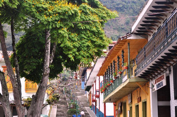 Colombia - Balcones de Jericó, Antioquia.