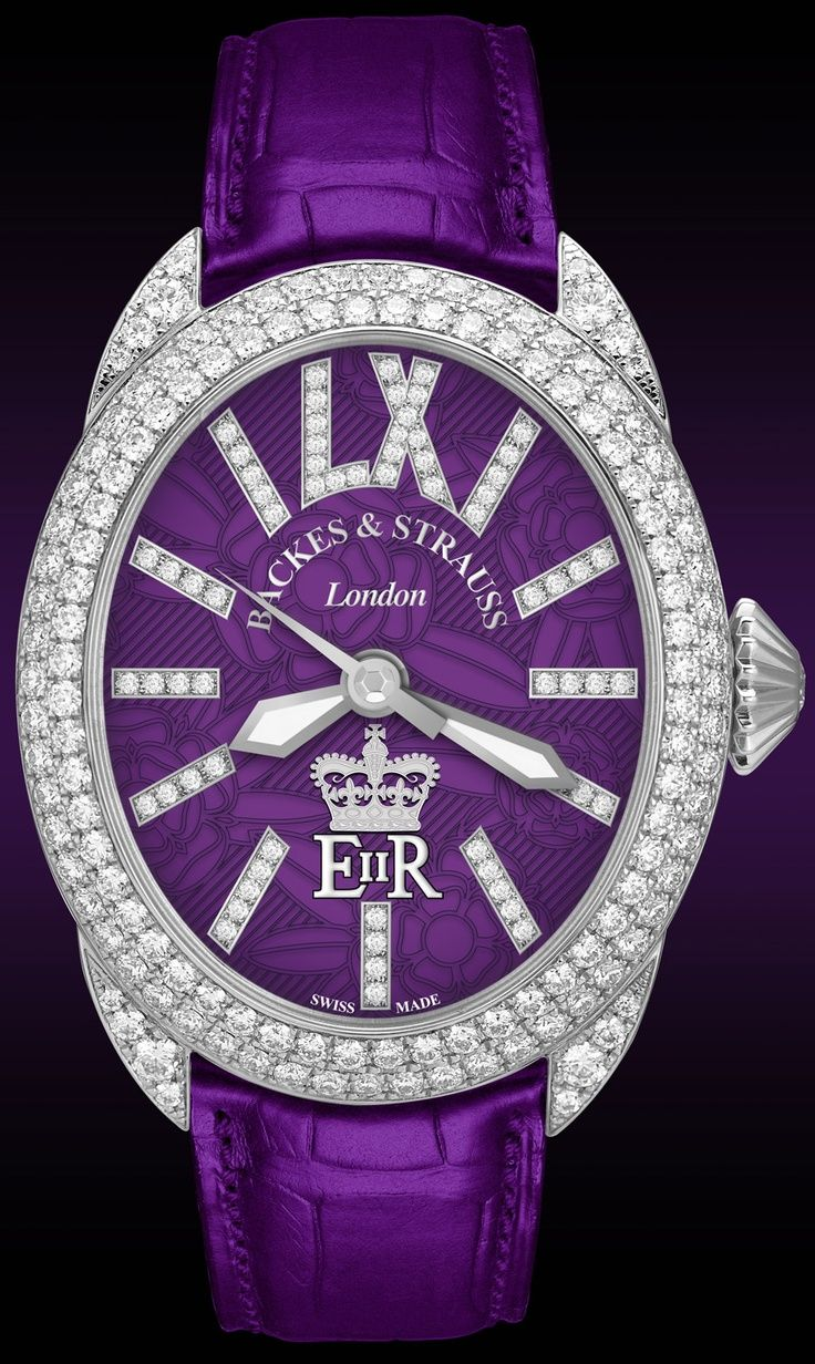 Purple watch...