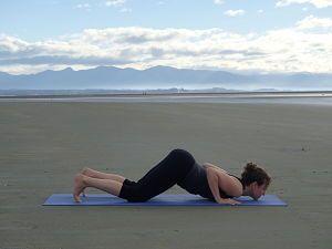 Ashtanga Pranam - 8 Point Salutationa- Yoga Posture
