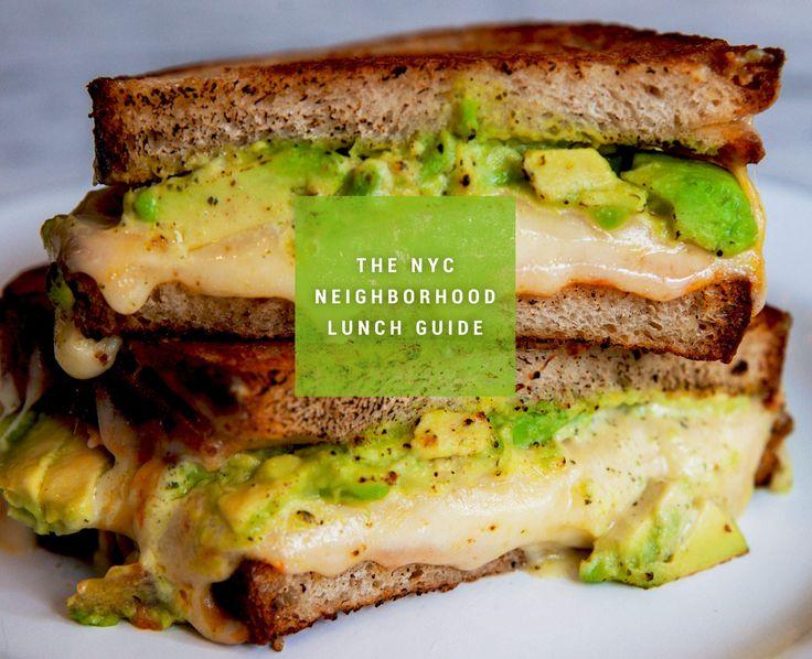 The Best Lunch Spot in 30 Manhattan Neighborhoods  https://www.thrillist.com/eat/new-york/the-best-nyc-lunch-spot-in-31-manhattan-neighborhoods
