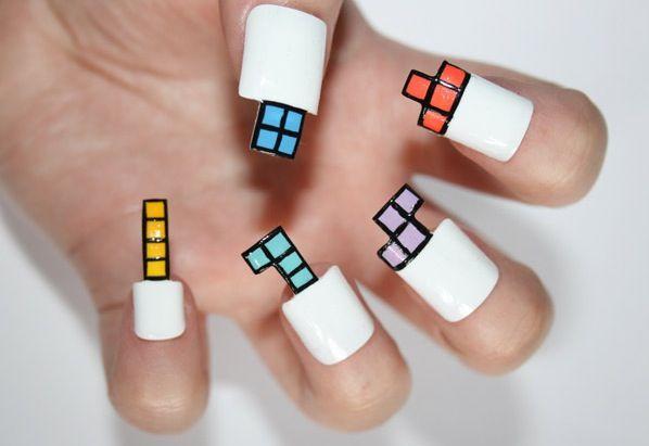 Tetris nails- not right