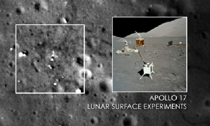 Wild conspiracy theory claims that Apollo moon landing was 'faked,' touts new 'photo' evidence