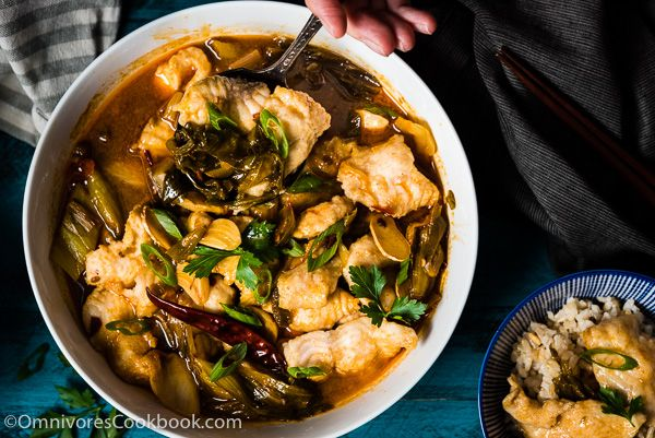 Suan Cai Yu is a lesser known Sichuan dish that features a hot and sour broth with super tender fish slices. This post includes two versions of the recipe – an easy one that you can finish cooking in 40 minutes; and an authentic one that you'll want to use when hosting a dinner party. …