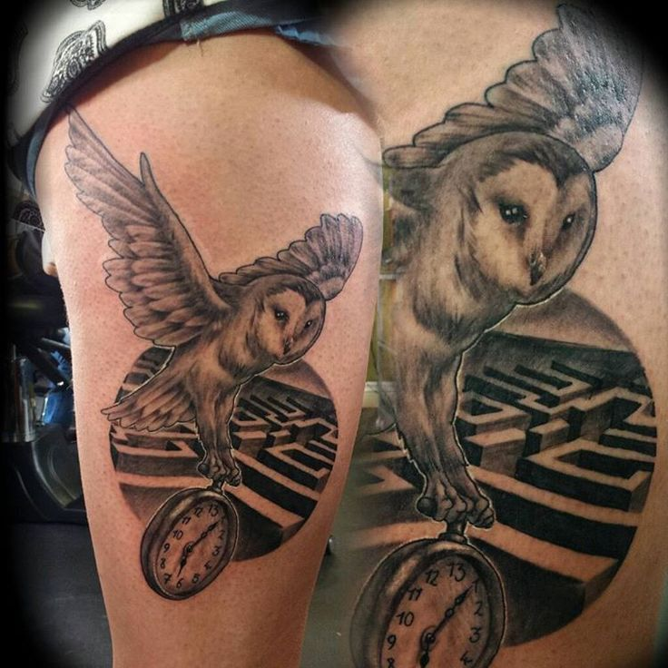 Labyrinth Owl Tattoo Pictures to Pin on Pinterest - PinsDaddy Labyrinth Owl Tattoo