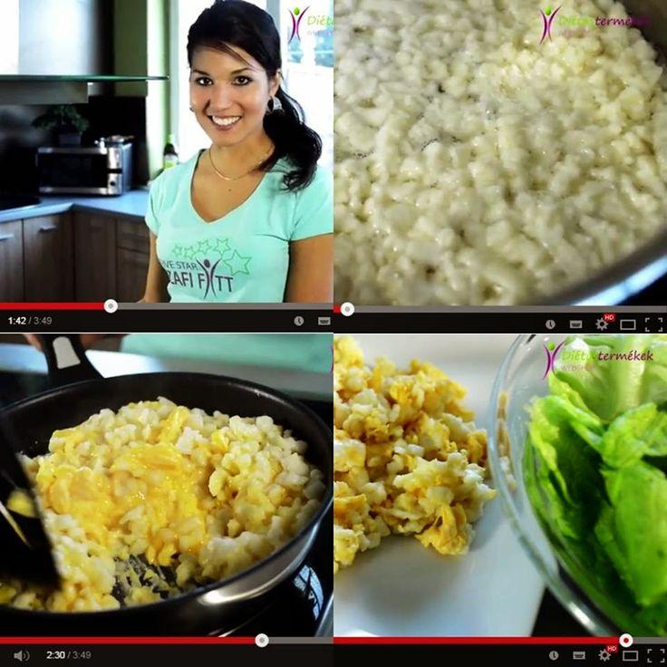 Diétás tojásos nokedli (Szafi Fitt recept) ~ Éhezésmentes Karcsúság Szafival