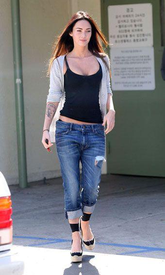 Megan Fox Leaving School After Visiting Brian Austin Green's Son