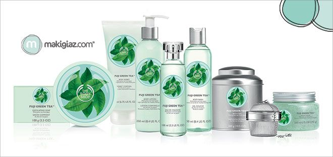 The Body Shop - Fuji Green Tea  http://makigiaz.com/blog/body-shop-fuji-tea/