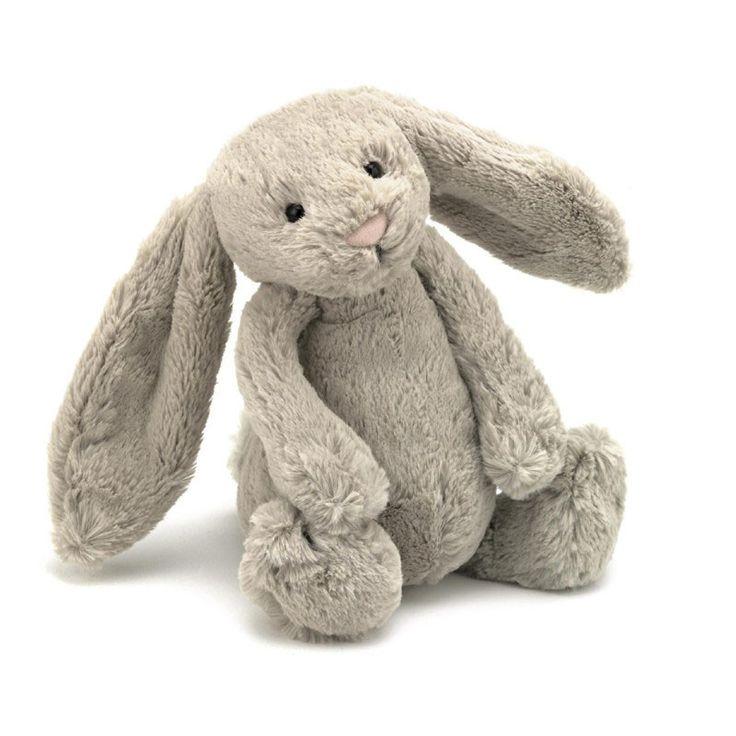 Jellycat bamse, Bashful beige kanin - 31 cm | LirumLarumLeg