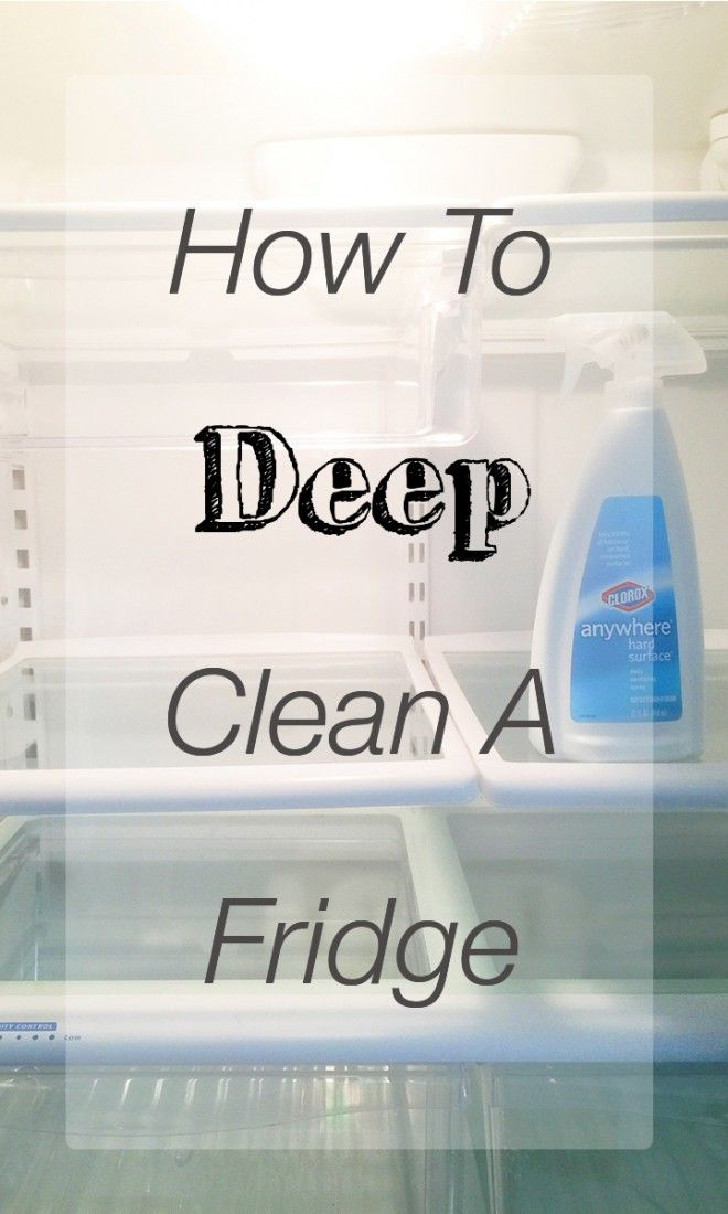 Tips for deep cleaning a fridge, fridge cleaning