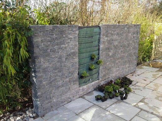 Slate clad display wall at sydenham's