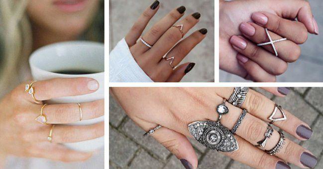 Anillos a medio dedo: El accesorio que vas a AMAR después de ver estas imágenes - IMujer