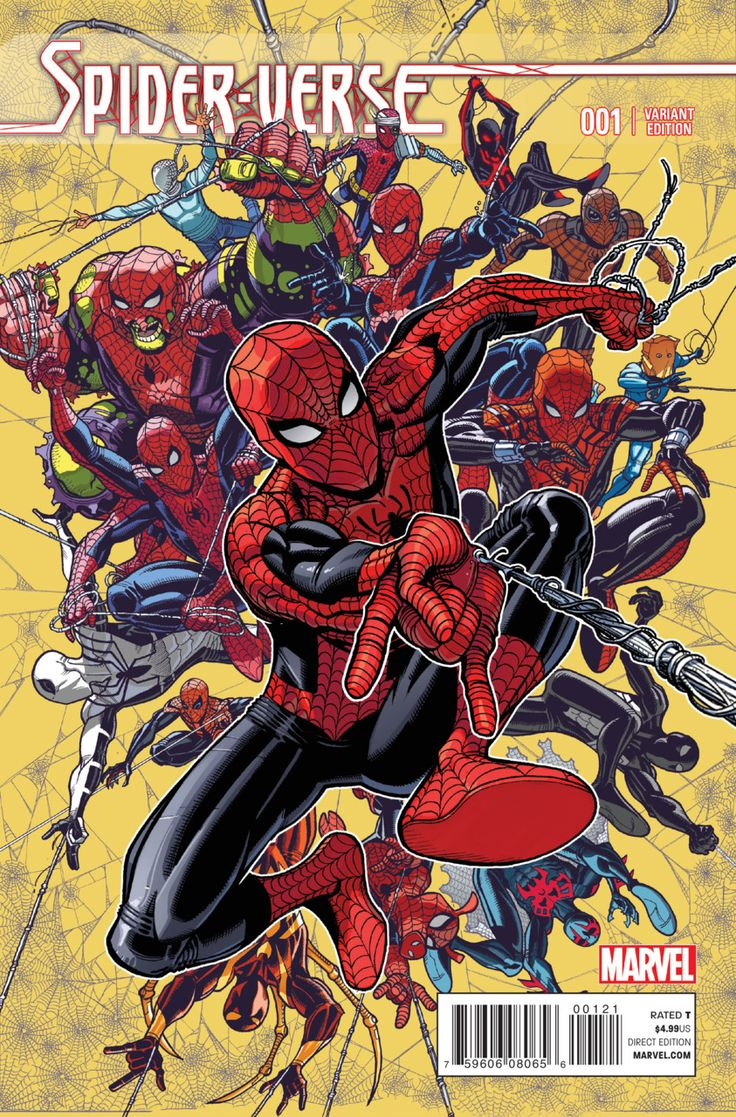 Spider-Verse #1 - Enter the Spider-Verse; Spider Clan: The Many; Steampunk Lady Spider; Penelope Parker (Issue)