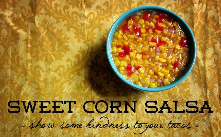 Sweet Corn Salsa (Trader Joe's replica)