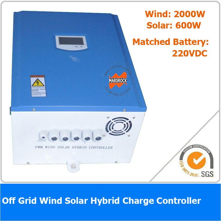 2600W 220VDC Off Grid PWM Wind Solar Hybrid Controller,  2000W Wind Power, 600W Solar Power #Affiliate