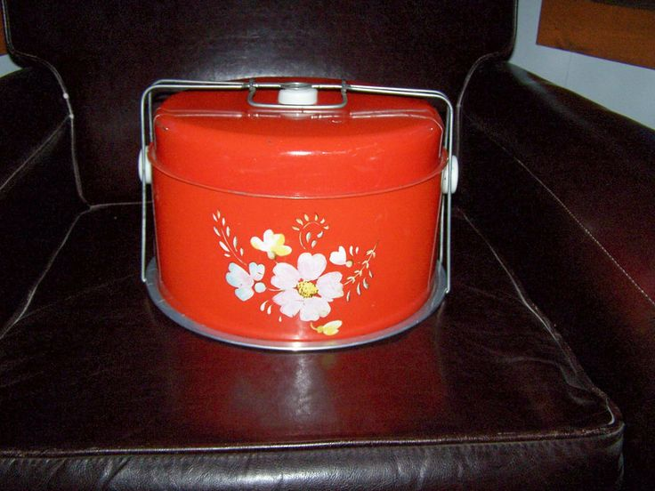17 Best Images About Vintage Cake Carriers Containers On
