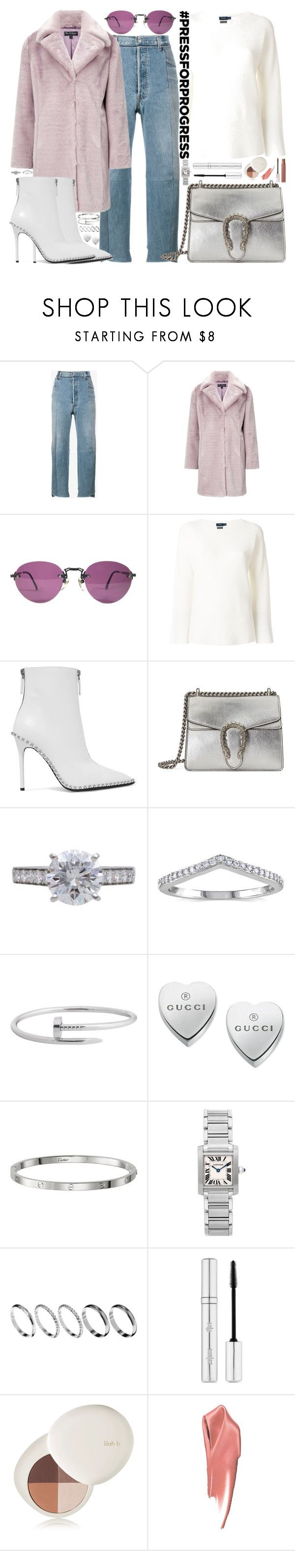 """""""This is the only thing that I don't know how to do"""" by carolsposito on Polyvore featuring Vetements, Miss Selfridge, Polo Ralph Lauren, Alexander Wang, Gucci, Cartier, Miadora, ASOS, Zelens and lilah b."""