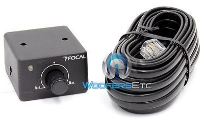 Audio Video Remotes: Focal Car Audio Remote Knob Wired Bass Sub Control For Fpp Series Amplifiers New -> BUY IT NOW ONLY: $54.99 on eBay!