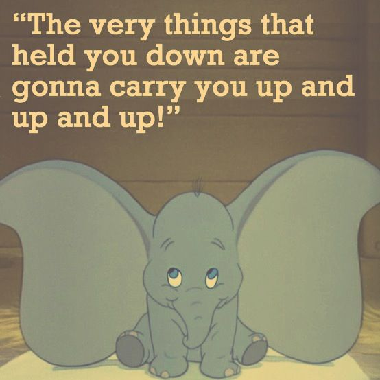 Dumbo #Quote Timothy Mouse #Word