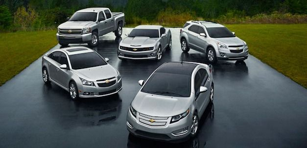 Preowned Chevy Lineup!