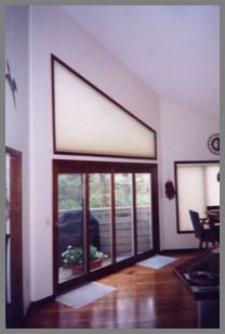 Arched Blinds And Angled Shades Motorized Moveable