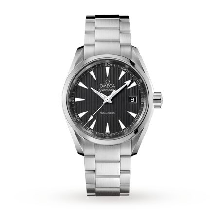 Mens Watches - Omega Seamaster Aqua Terra Gents Quartz Watch - 231.10.39.60.06.001