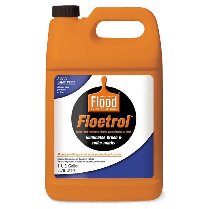 Flood Floetrol Interior Exterior Paint Conditioner Actual Net