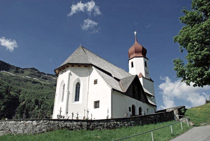Die Kirche St.Nikolaus in Damüls